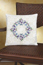 Floral Fantasy Pillow