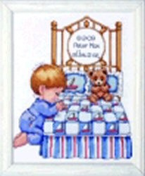 Bedtime Prayer Boy Sampler