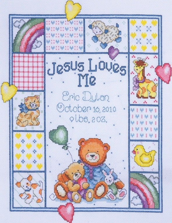 Jesus Loves Me Sampler