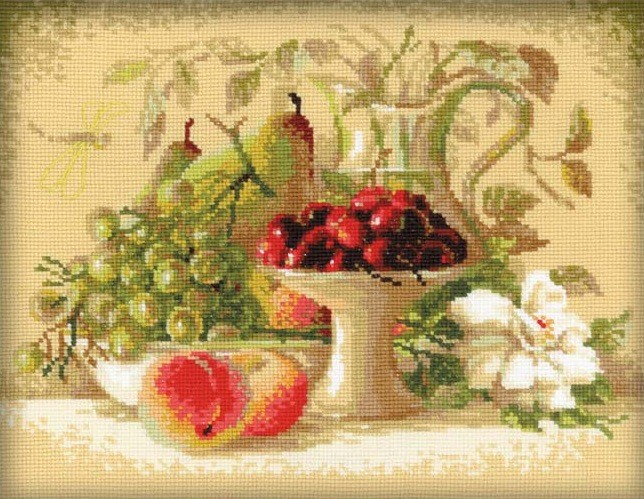 Still Life with Sweet Cherries