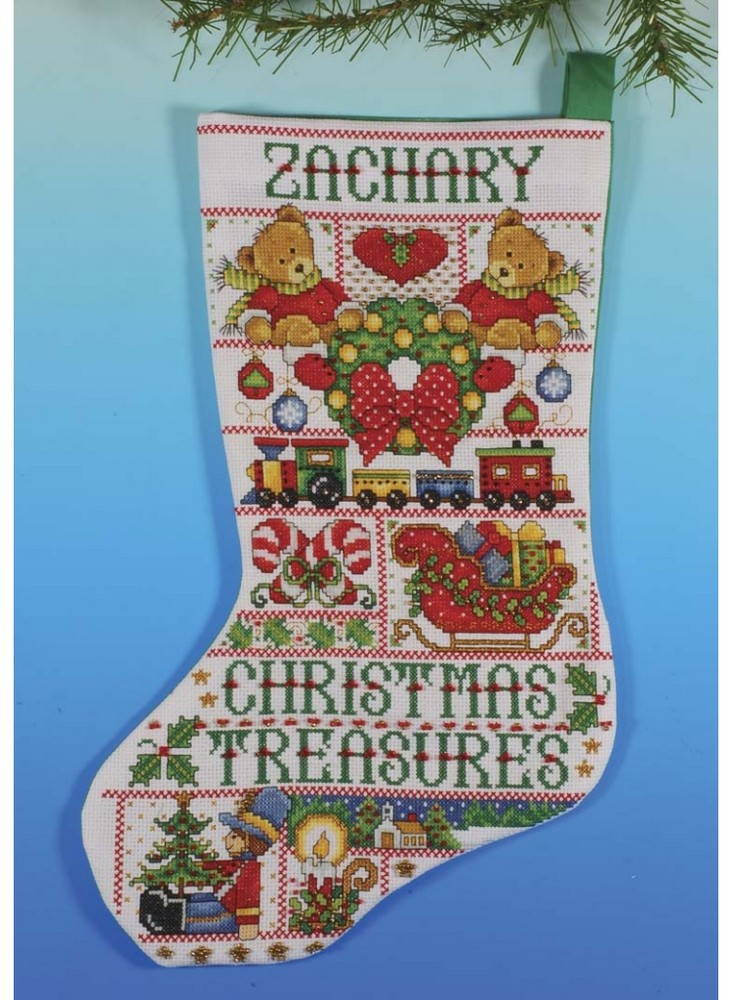 Christmas Treasures Stocking