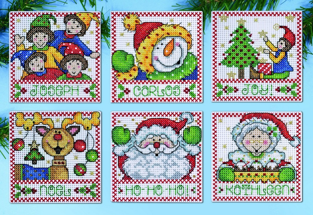 Christmas Tags Ornaments