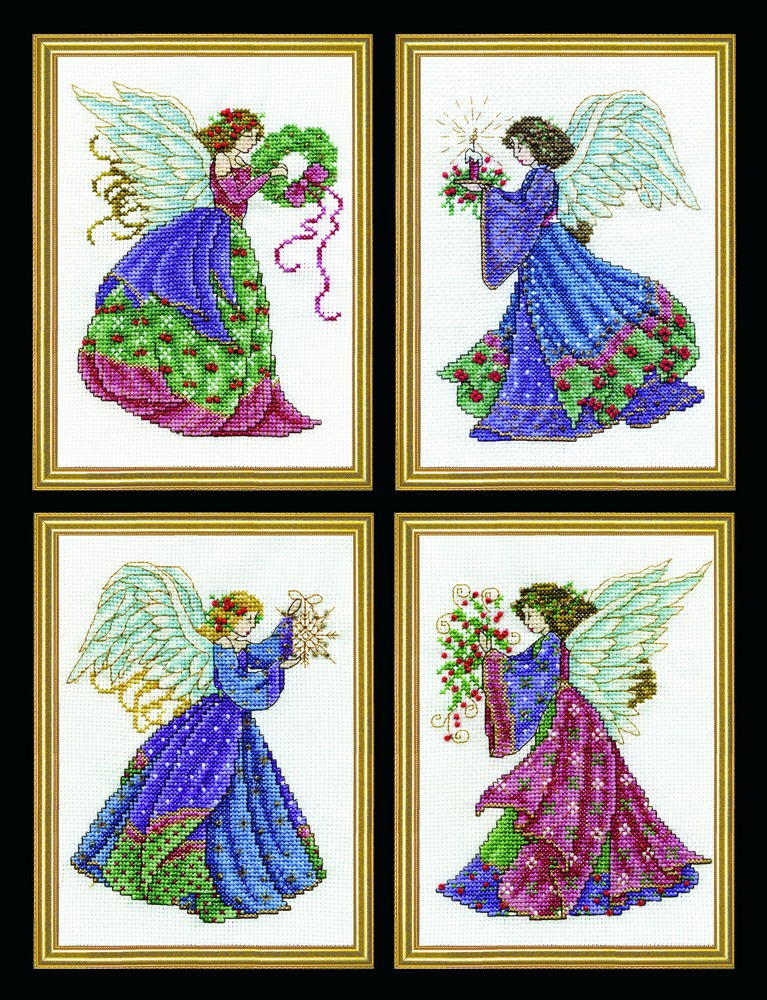 Four Christmas Angels