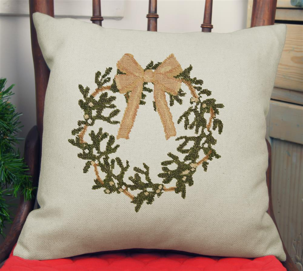 Wreath Value Cushion Front