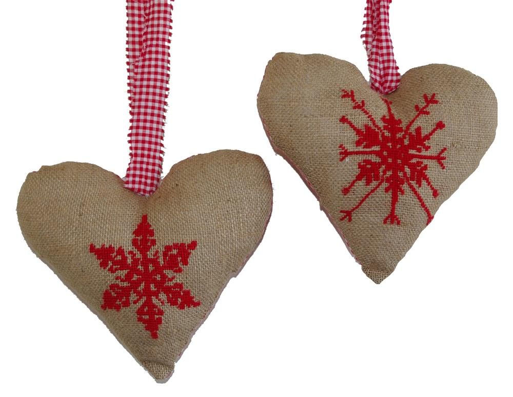 Christmas Heart Decorations