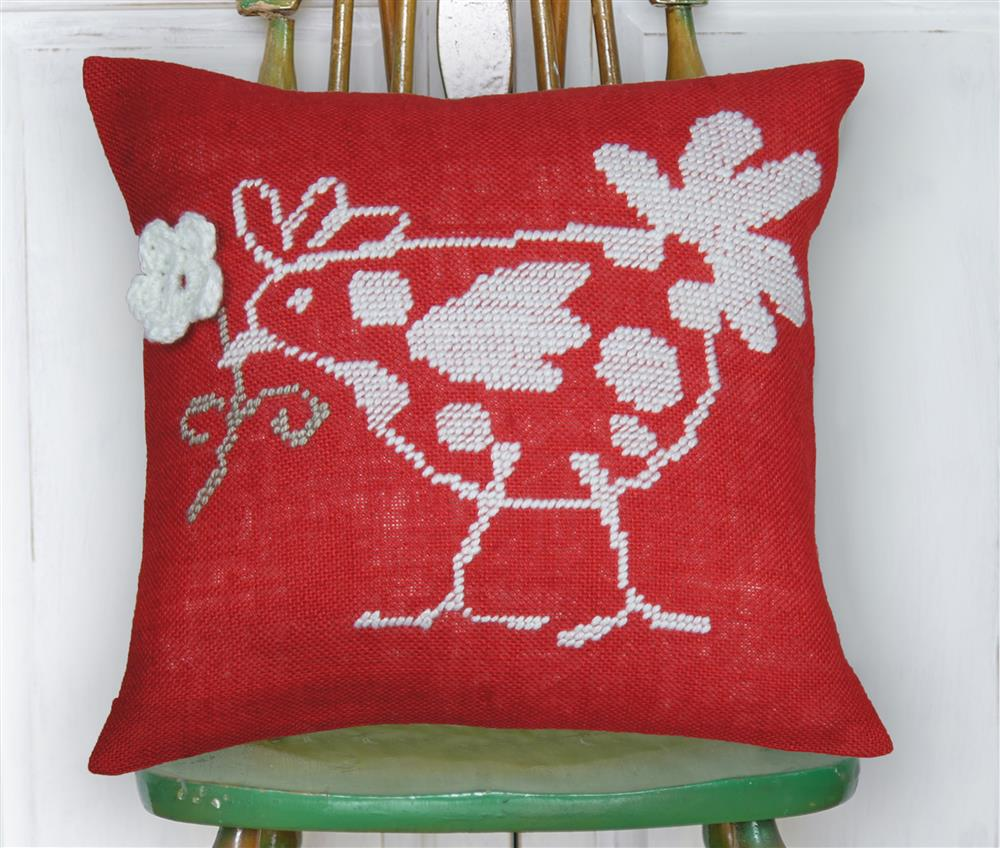Red Hen Value Cushion Front