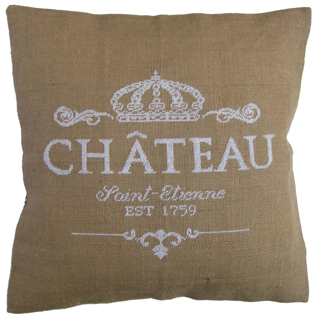 Chateau in White Value Cushion Front