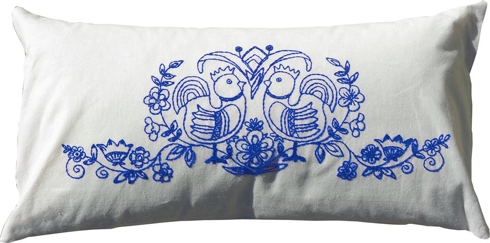 Scandinavia Blue Value Cushion Front