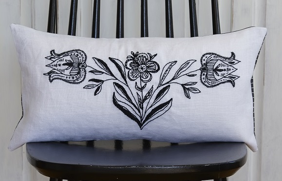 Mono Floral Value Cushion Front