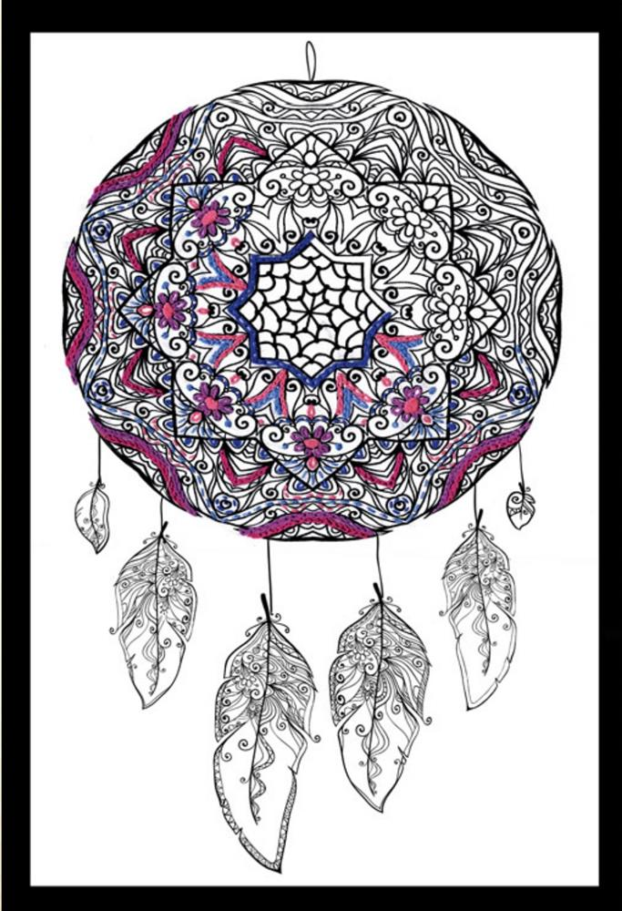 Zenbroidery Printed Fabric - Dreamcatcher