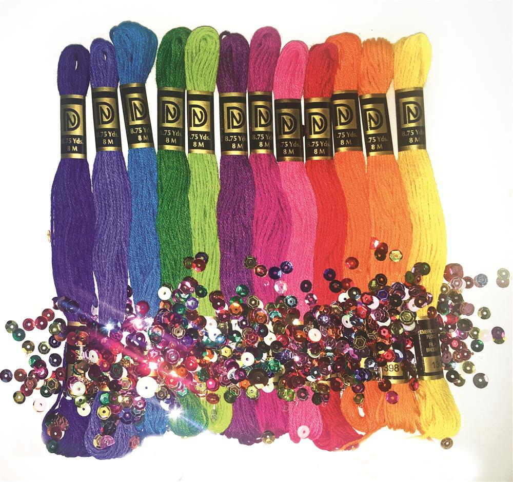Zenbroidery Brights Trim Pack