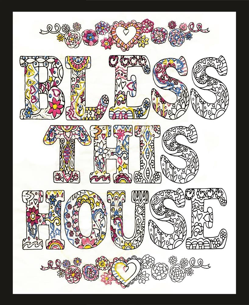 Zenbroidery - Bless This House