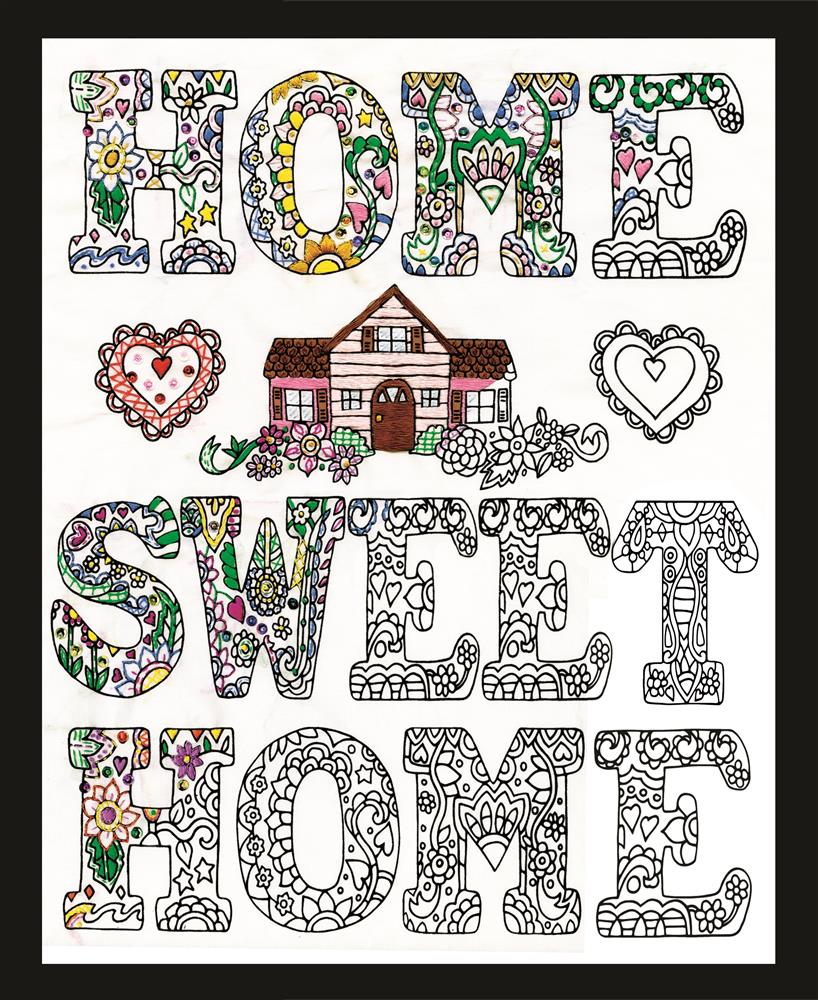 Zenbroidery - Home Sweet Home