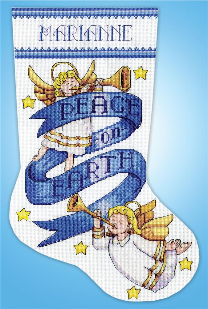 Peace on Earth Stocking