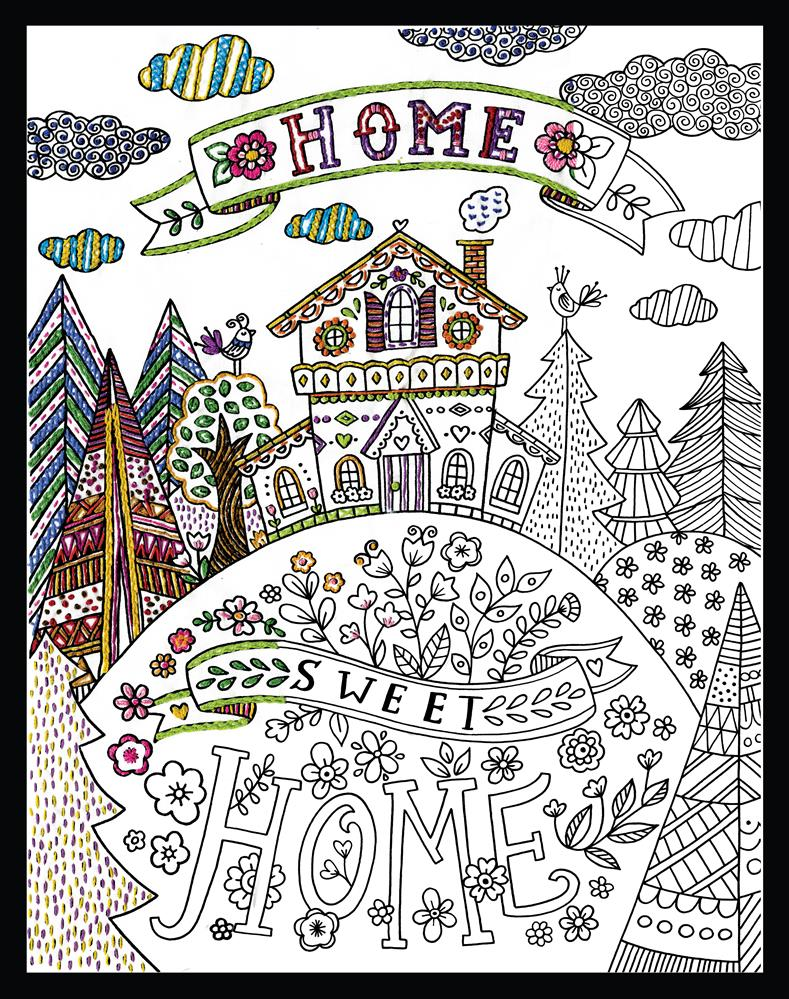 Zenbroidery - Our Home Sweet Home