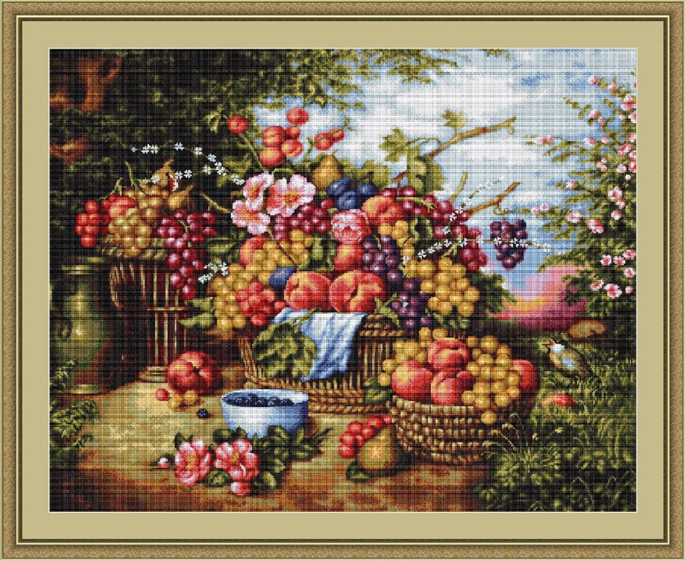 Still Life in Nature - Petit Point