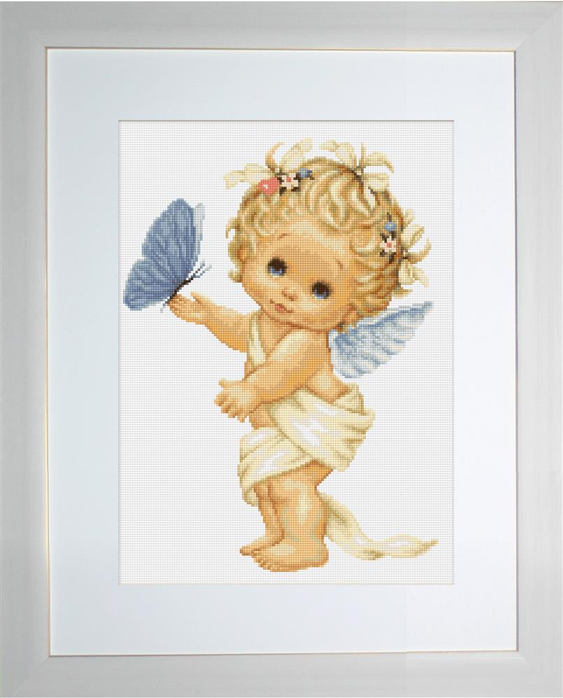 Butterfly Angel - Petit Point