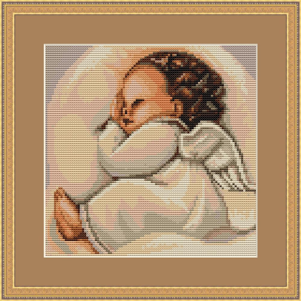 Infant Sleeping - Petit Point