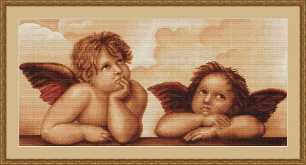 Cherubs - Petit Point