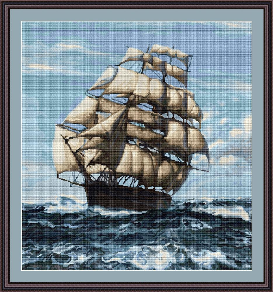 Tall Ship II - Petit Point
