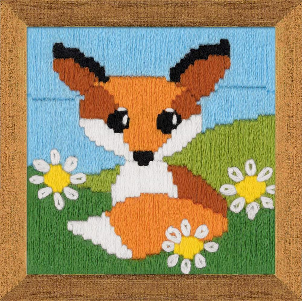 Fox in Daisies