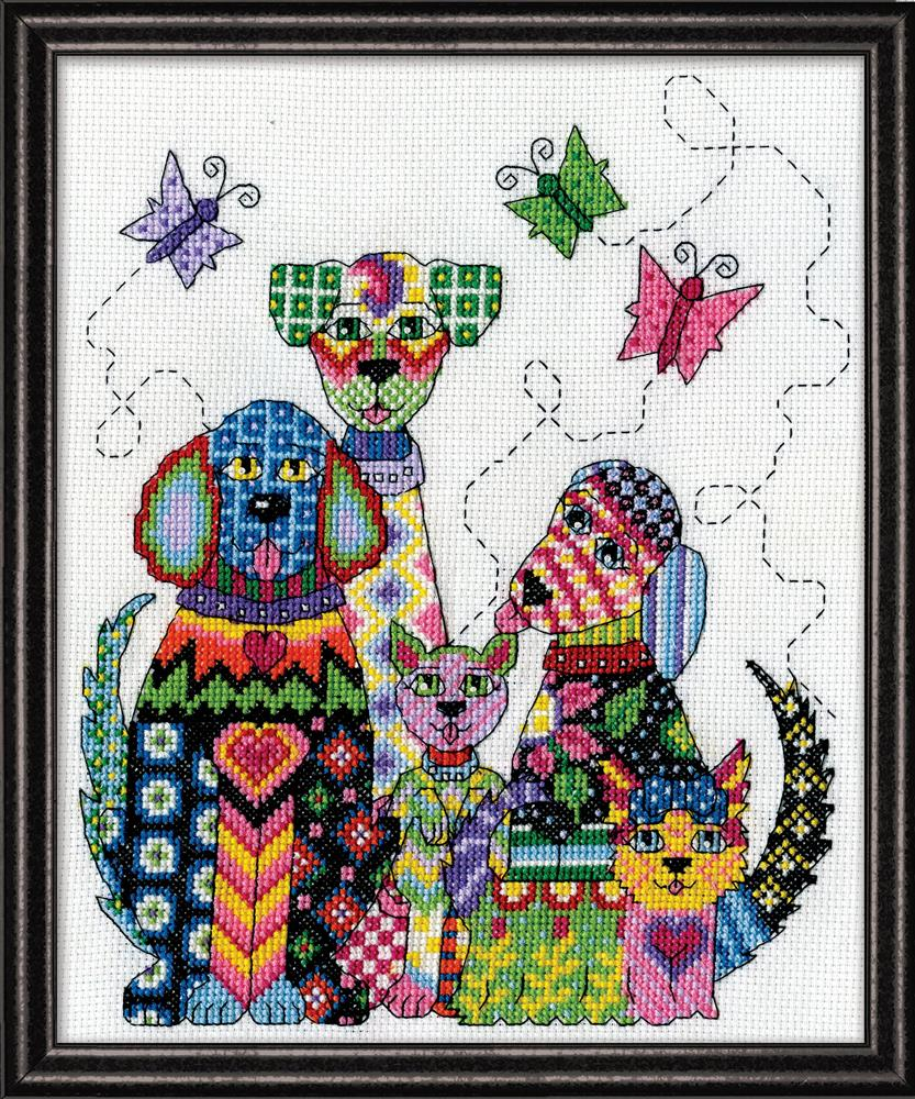 Patchwork Dogs
