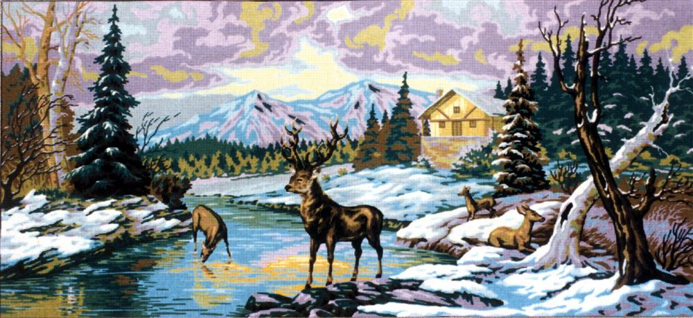 Deers on the River