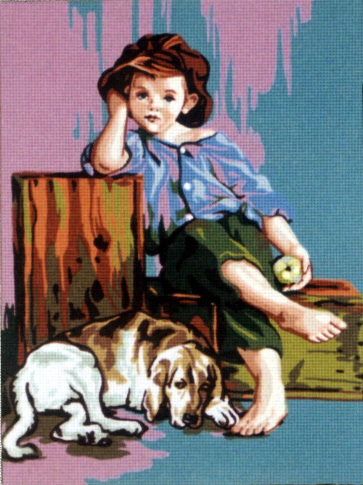 Boy with a Dog