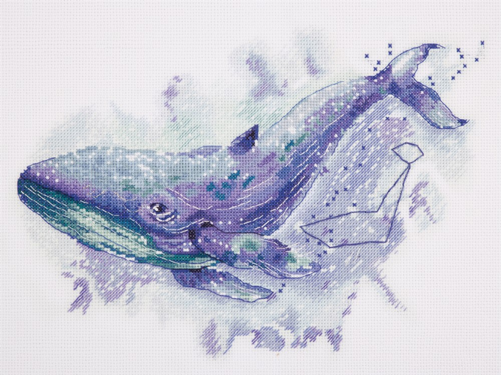 Watercolour Whale