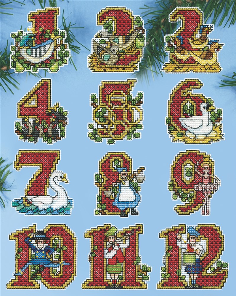 Twelve Days Ornaments
