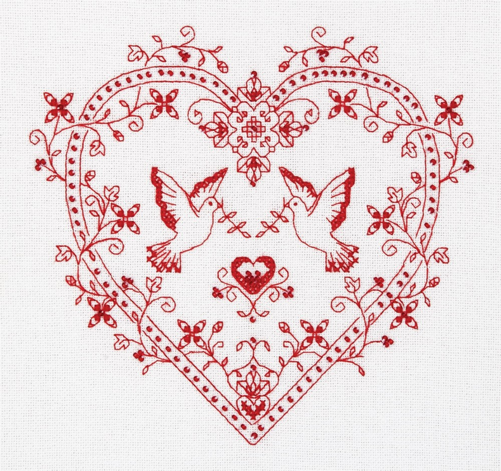 Heart with Doves