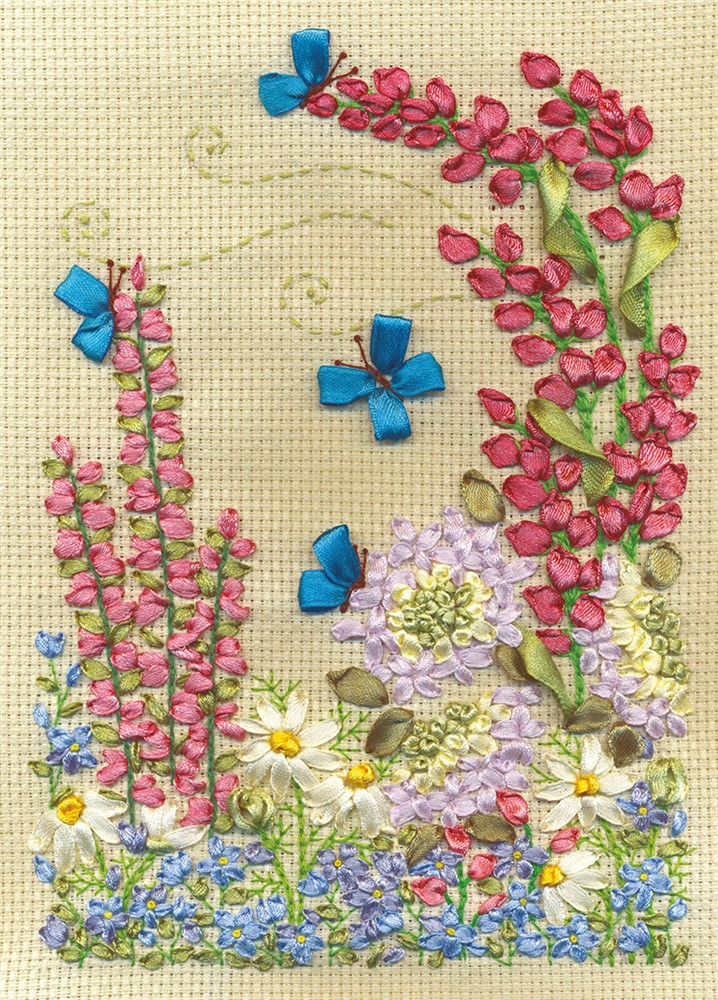 Lupins and Butterflies