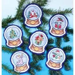 Snow Globes Ornaments