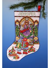 Stained Glass Stocking