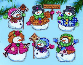 Welcome Winter Ornaments