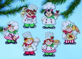 Cooking up Christmas Ornaments