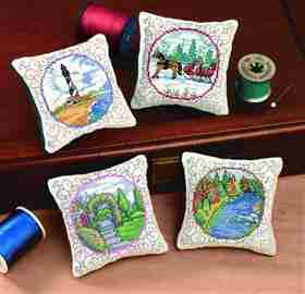 Scenic Pillows - Set of 4