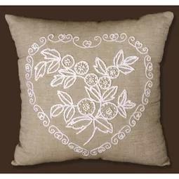 Heart Candlewick Pillow