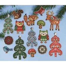 Woodland Ornaments