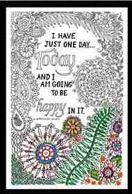 Zenbroidery Printed Fabric - Bee Happy