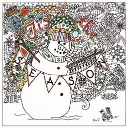 Zenbroidery Printed Fabric - Tis the Season