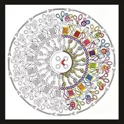 Zenbroidery - Sewing Mandala