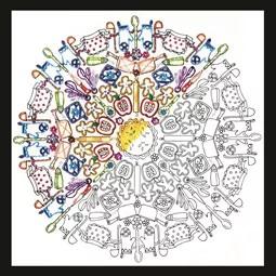 Zenbroidery - Kitchen Mandala
