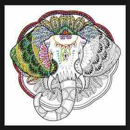 Zenbroidery - Elephant