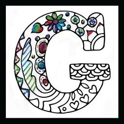 Zenbroidery - Letter G