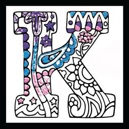 Zenbroidery - Letter K
