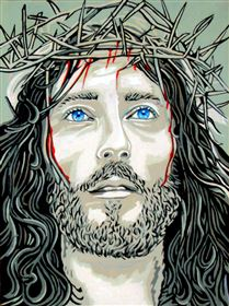 Jesus with Thorn Crown