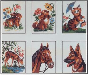Collection of Six Animals A