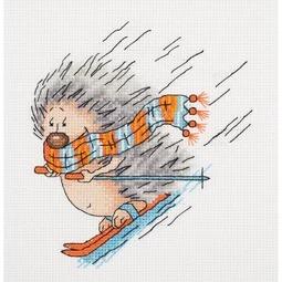 Ski-ing Hedgehog