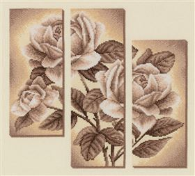 Rose Tryptich